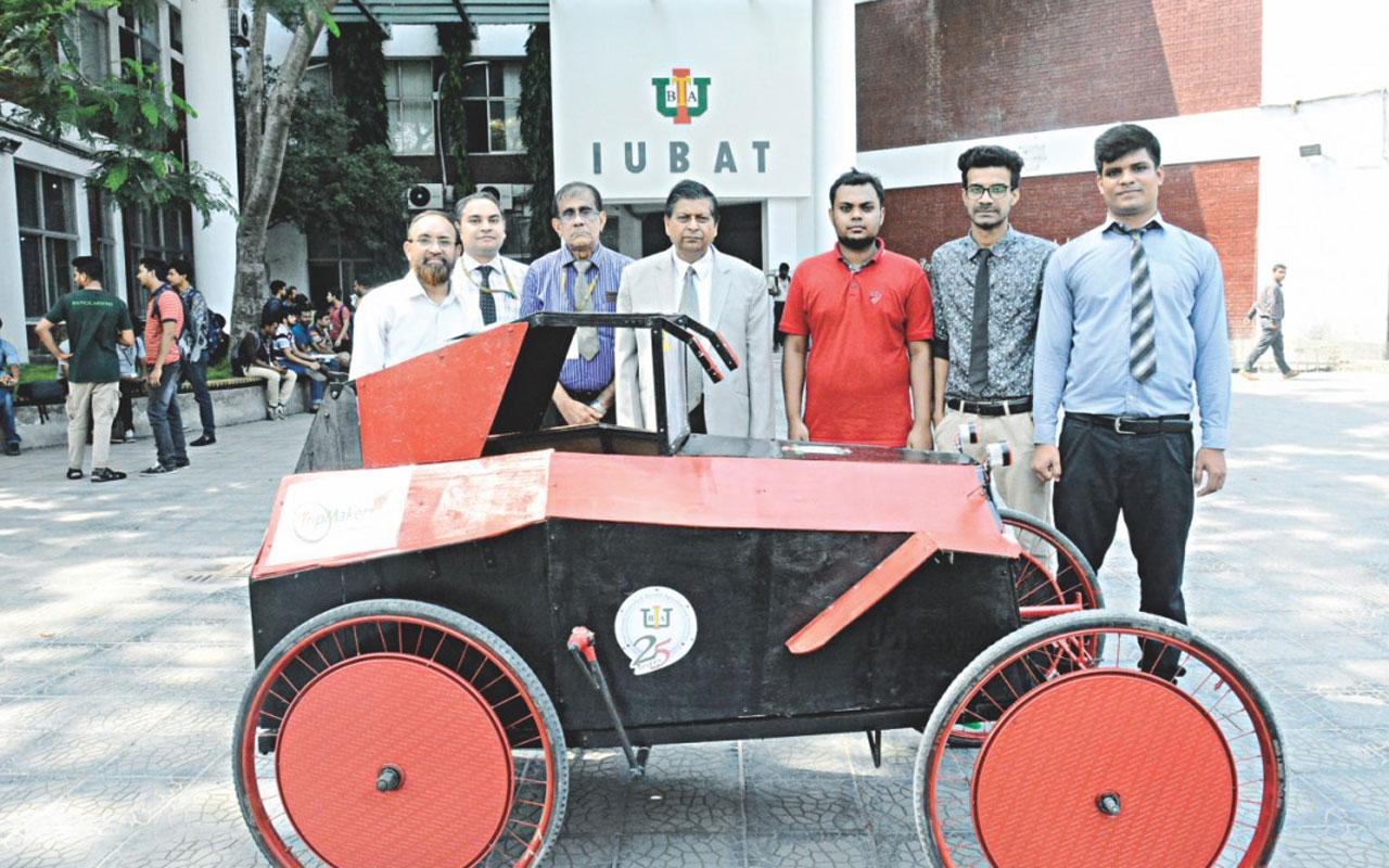 IUBAT Students Build Solar-Electric Car - ME